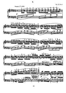 Zehn Präludien, Op.23: Präludium Nr.9 in es-Moll by Sergei Rachmaninoff