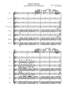 Nr.6 Chinesischer Tanz: Für Flötenoktett by Pjotr Tschaikowski