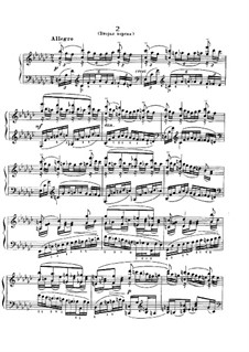 Six Moments Musicaux, Op.16: No.2 (second version) by Sergei Rachmaninoff