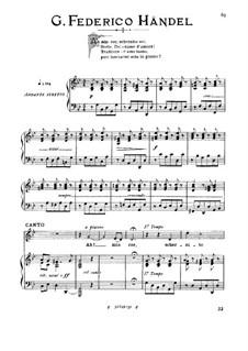 Alcina, HWV 34: Ah! mio cor, schernito sei (low voice in G Minor) by Georg Friedrich Händel