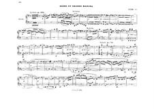Akt II. Szena und grosser Marsch: Bearbeitung für Klavier, vierhändig - Stimmen by Richard Wagner