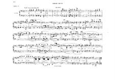 Fragmente: Akt III, Antrakt, für Klavier, vierhändig by Richard Wagner
