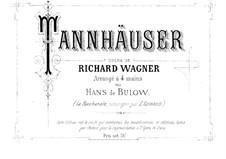 Vollständiger Oper: Für Klavier, vierhändig by Richard Wagner