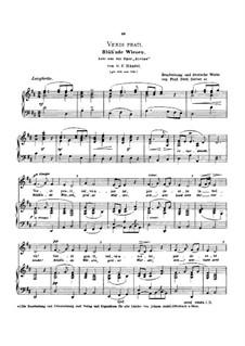 Alcina, HWV 34: Verdi prati, Low Voice in D Major by Georg Friedrich Händel