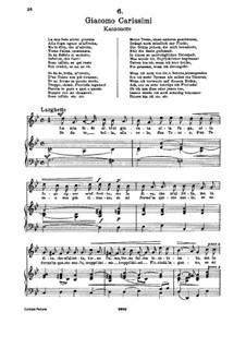 La mia fede altrui giurata (Soprano): La mia fede altrui giurata (Soprano) by Giacomo Carissimi