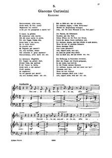 Socorretemi, ch'io moro (Soprano): Socorretemi, ch'io moro (Soprano) by Giacomo Carissimi