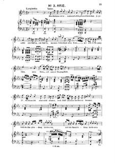 Dies Bildnis ist bezaubernd schön: Für Tenor und Klavier by Wolfgang Amadeus Mozart