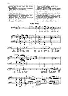 In diesen heil'gen Hallen: Für Bass und Klavier by Wolfgang Amadeus Mozart