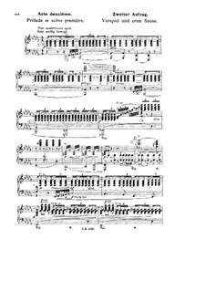 Götterdämmerung, WWV 86d: Akt II, für Stimmen und Klavier by Richard Wagner