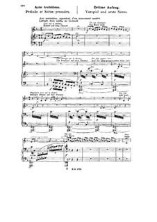 Götterdämmerung, WWV 86d: Akt III, für Stimmen und Klavier by Richard Wagner