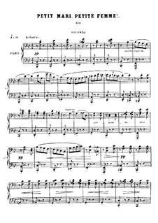 No.11 Petit Mari, Petite femme: Erste und zweite Stimme by Georges Bizet