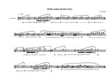 Petits contes de fées No.1 for tenor recorder, MVWV 774: Petits contes de fées No.1 for tenor recorder by Maurice Verheul