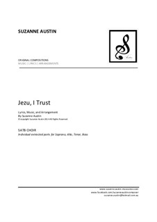 Jezu, I Trust: SATB - Extracts by Suzanne Austin