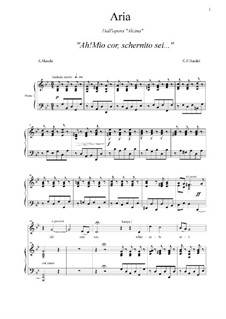 Alcina, HWV 34: Ah! mio cor, schernito sei (g minor) by Georg Friedrich Händel