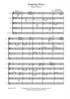 Erstaunliche Gnade: Für Streichorchester by folklore