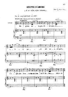 Die Königin von Saba, Op.27: Romanza 'Magiche note' e duetto d'amore 'A me alfin, alfin ritorni' by Karl Goldmark