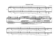Nocturne No.18 for piano, MVWV 777: Nocturne No.18 for piano by Maurice Verheul