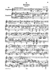 Erlafsee, D.586 Op.8 No.3: Für hohe Stimme und Klavier by Franz Schubert