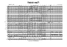 Forever Mine. Waltz: For big band by Thomas Hans Graf