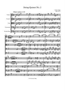 String Quintet No.2: String Quintet No.2 by Jordan Grigg