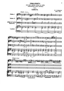 Hortus Musicus. Sonaten und Suiten für Streicher und Basso Continuo: Sonate und Suite Nr.6 in A-Dur by Johann Adam Reincken