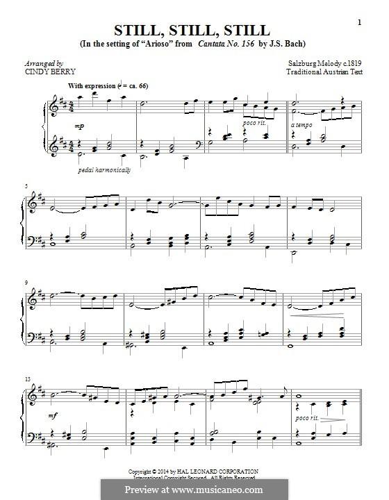 Still, Still, Still: Für Klavier by folklore