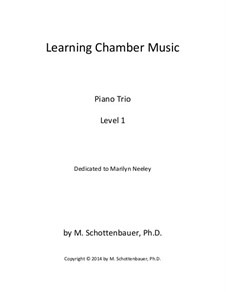 Learning Chamber Music: Piano trio with strings by Michele Schottenbauer