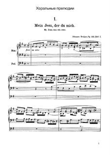 Elf Choralvorspiele Präludien, Op.122: Vollsammlung by Johannes Brahms