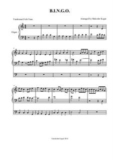 Bingo: Für Orgel by folklore