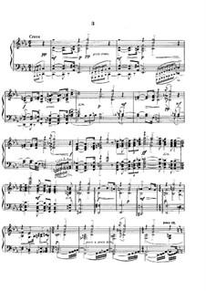 Etudes-tableaux, Op.33: Nr.3 in c-Moll by Sergei Rachmaninoff