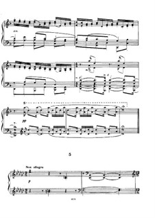 Etudes-tableaux, Op.33: Nr.5 in es-Moll by Sergei Rachmaninoff