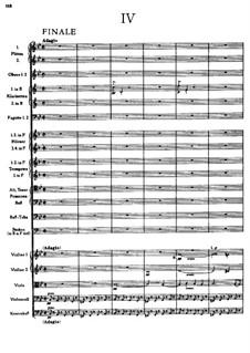 Sinfonie Nr.5 in B-Dur, WAB 105: Teil IV by Anton Bruckner