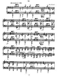 Zehn Präludien, Op.23: Präludium Nr.5 in g-Moll by Sergei Rachmaninoff