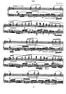 Zehn Präludien, Op.23: Präludium Nr.6 in Es-Dur by Sergei Rachmaninoff