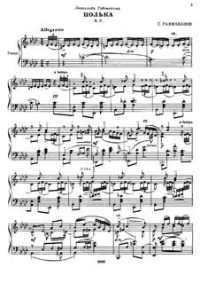 Polka de W.R.: Polka de W.R. by Sergei Rachmaninoff