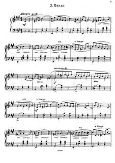 Sept Morceaux de Salon, Op.10: Nr.2 Walzer by Sergei Rachmaninoff