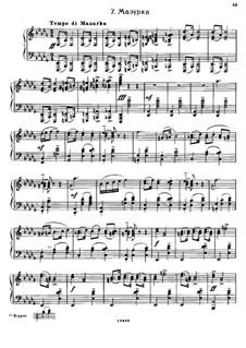 Sept Morceaux de Salon, Op.10: No.7 Mazurka by Sergei Rachmaninoff