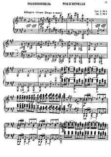 No.4 Polichinelle: Für Klavier by Sergei Rachmaninoff