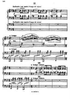 Symphonic Dances, Op.45: Teil II für zwei Klaviere, vierhändig by Sergei Rachmaninoff