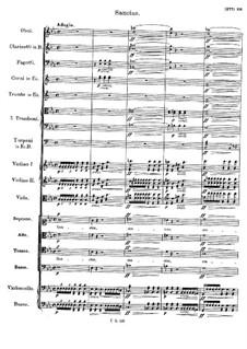 Messe Nr.6 in Es-Dur, D.950: Sanctus by Franz Schubert