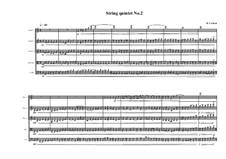 String quintet No.2, MVWV 382: String quintet No.2 by Maurice Verheul