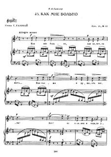 Twelve Romances, Op.21: No.12 by Sergei Rachmaninoff