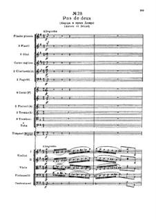 Fragmente: Act III, No.28 Pas de deux (Aurore et Désiré) by Pjotr Tschaikowski
