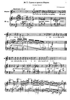 Mazepa, TH 7: Scene and Arioso of Maria by Pjotr Tschaikowski