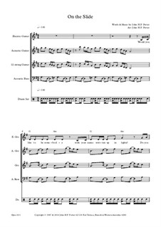 On the Slide, Op.181: On the Slide by JHFP