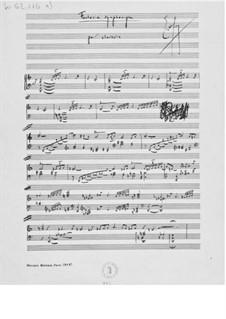 Sinfonische Fantasie für Cembalo: Sinfonische Fantasie für Cembalo by Ernst Levy