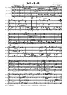 Still, Still, Still: For saxophone quartet by folklore