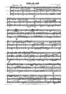 Still, Still, Still: For brass trio by folklore