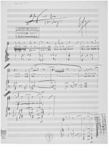 Anfang und Ende für eine Singstimme mit Klavierbegleitung: Anfang und Ende für eine Singstimme mit Klavierbegleitung by Ernst Levy