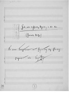 Sieh, mein verfluchtes Herz bring ich dir dar für eine Tenorstimme mit Klavierbegleitung: Sieh, mein verfluchtes Herz bring ich dir dar für eine Tenorstimme mit Klavierbegleitung by Ernst Levy